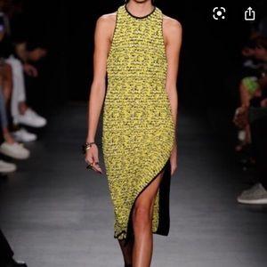 NWT Rag & Bone Viola Yellow Knit Maxi Dress
